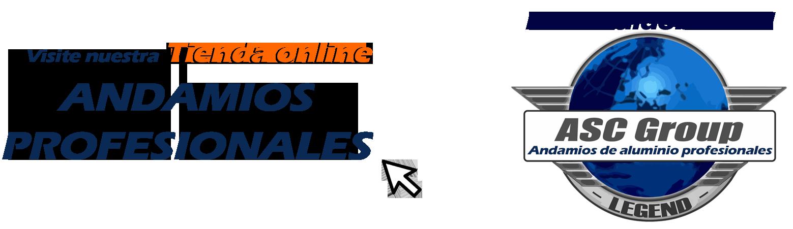 Distribuidor oficial ASC GROUP - Andamios y torres móviles de aluminio de calidad